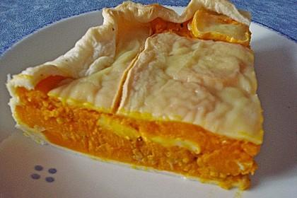 Kürbis - Raclettekuchen 4