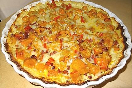 Kürbis - Raclettekuchen 1