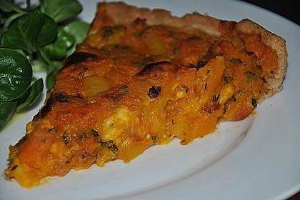 Kürbis - Raclettekuchen 6