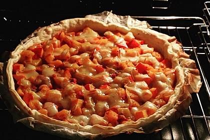Kürbis - Raclettekuchen 21