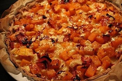 Kürbis - Raclettekuchen 14