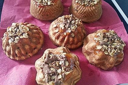 Apfelmus - Haferflocken - Muffins 20