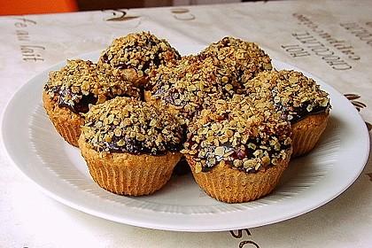 Apfelmus - Haferflocken - Muffins 4