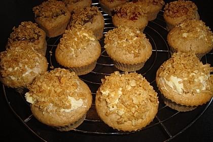 Apfelmus - Haferflocken - Muffins 30
