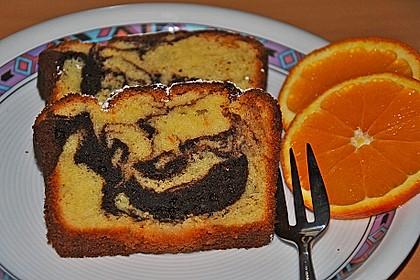 Orangen - Marmorkuchen 15