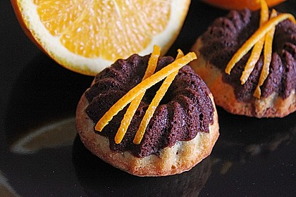 Orangen - Marmorkuchen