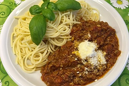Papas Spaghetti Bolognese