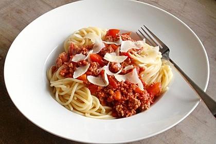 Papas Spaghetti Bolognese (Bild)