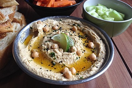 Merceiles Hummus auf türkische Art 1