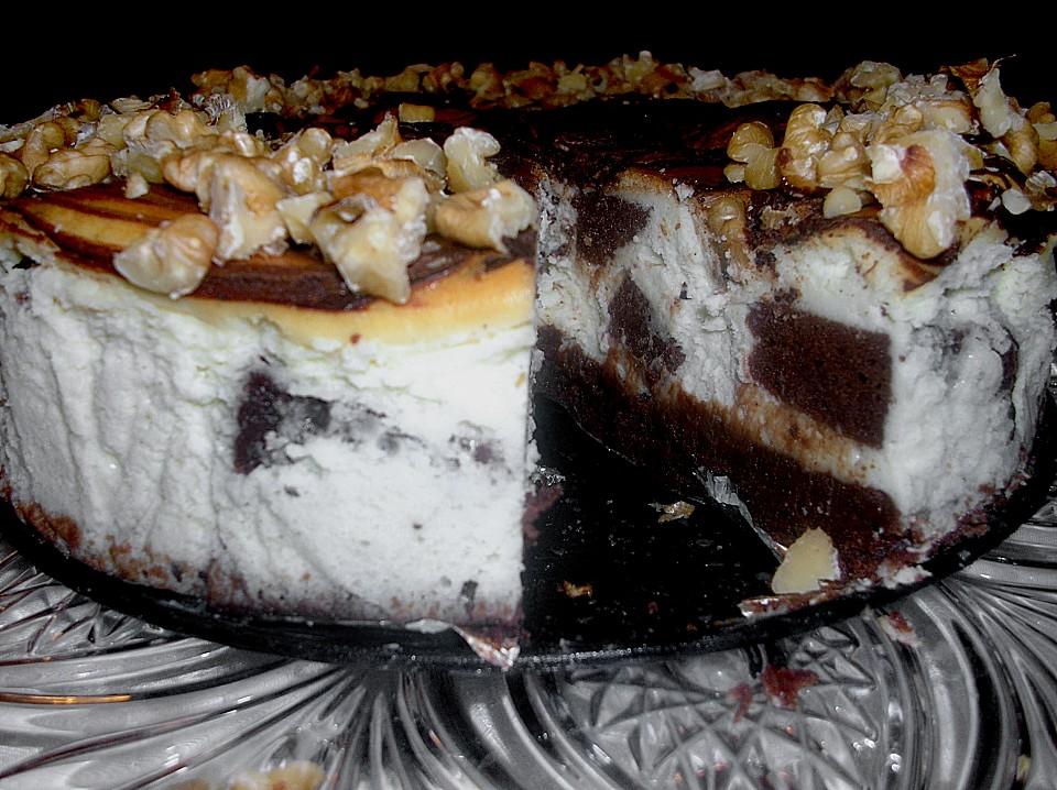 Brownie Swirl Cheesecake Recipe — Dishmaps