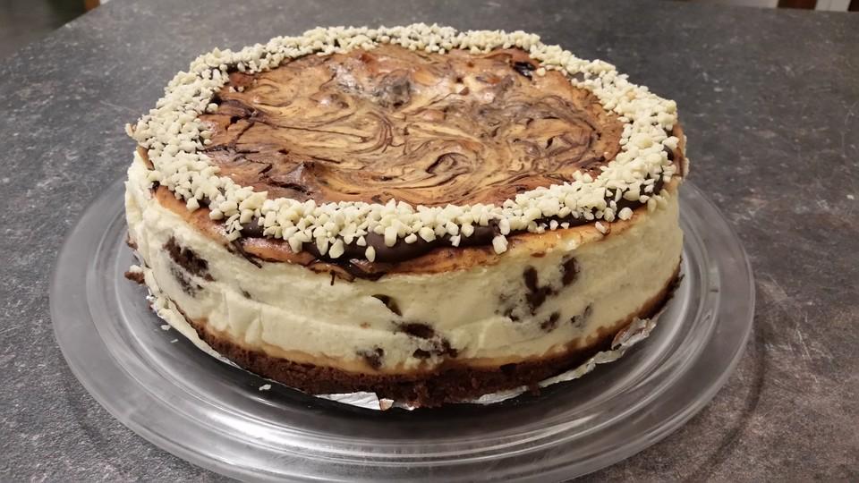Brownie Swirl Cheesecake (Rezept mit Bild) von kaddistar | Chefkoch.de
