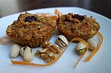 Karotten - Walnuss - Rosinen - Muffins