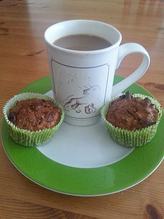 karotten walnuss rosinen muffins von riaco