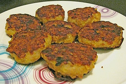 Käsefrikadellen mit Putenhackfleisch 16