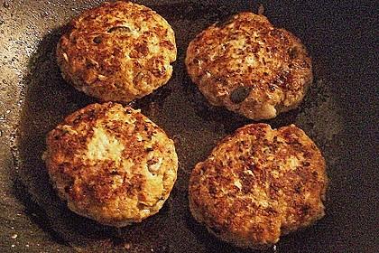 Käsefrikadellen mit Putenhackfleisch 10