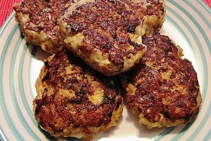 Käsefrikadellen mit Putenhackfleisch 3
