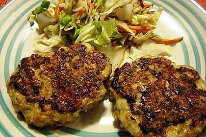 Käsefrikadellen mit Putenhackfleisch 5