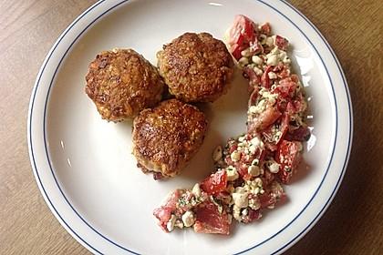 Käsefrikadellen mit Putenhackfleisch 7