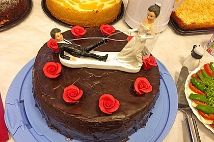 Marzipan - Nougat - Torte 1