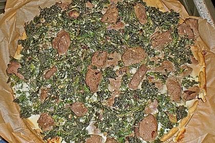 Grünkohlquiche mit Lamm 2