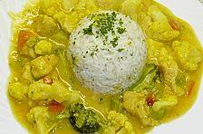 Puten - Curry - Gulasch