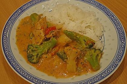 Puten - Curry - Gulasch 2