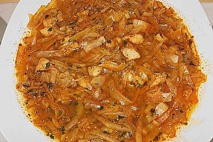Ille Fischsuppe nach meiner Art - schnell, einfach und trotzdem schmackhaft und sättigend 3