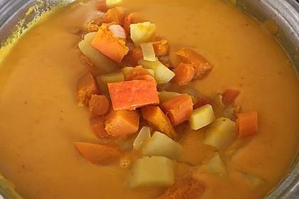 Kartoffel-Kürbis-Suppe 15