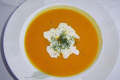 Kartoffel-Kürbis-Suppe 4