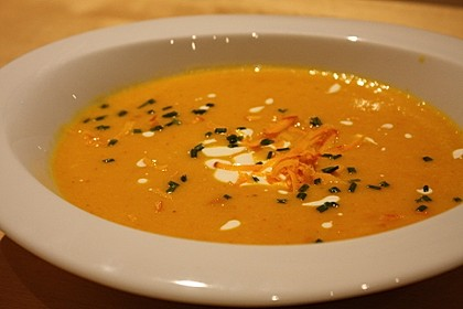 Kartoffel-Kürbis-Suppe 1