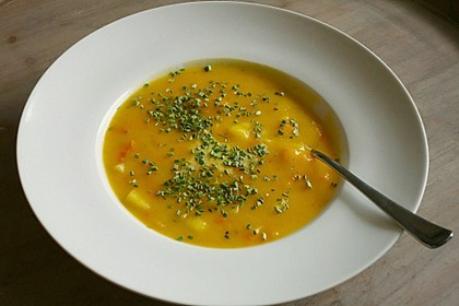 Kartoffel-Kürbis-Suppe 5