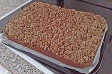 Schokoladenkuchen mit Knusper - Streuseln