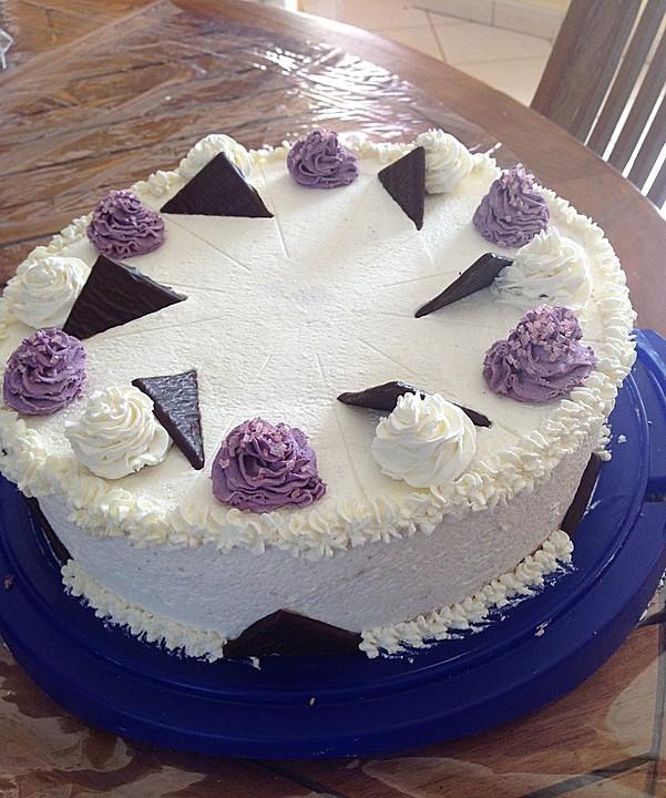 Schnelle Blechkuchen Rezepte Mit Bild: Schnelle After Eight Torte (Rezept Mit Bild) Von