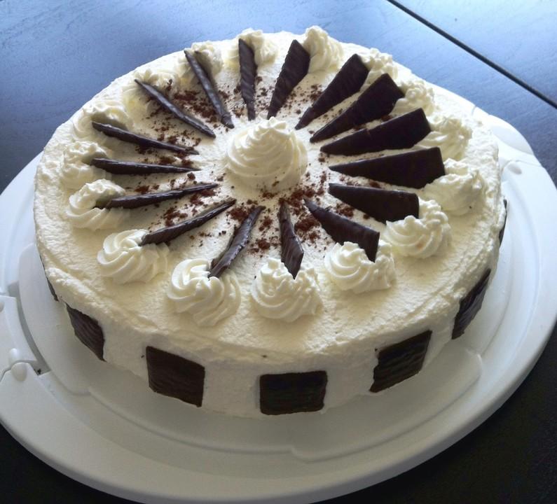 Schnelle Blechkuchen Rezepte Mit Bild: Schnelle After Eight Torte Von Biancakrug