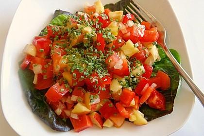 Apfel - Paprika - Salat 8