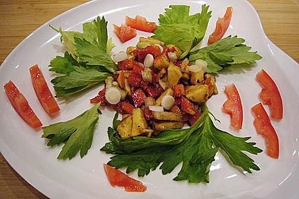 Apfel - Paprika - Salat 2