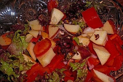Apfel - Paprika - Salat 7