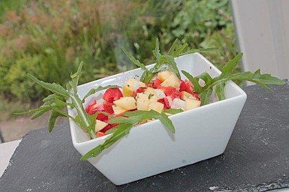 Apfel - Paprika - Salat 1
