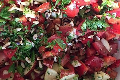 Apfel - Paprika - Salat 3