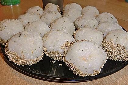 Onigiri mit Lachs und Hähnchen 22