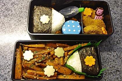 Onigiri mit Lachs und Hähnchen 4