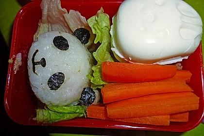 Onigiri mit Lachs und Hähnchen 2