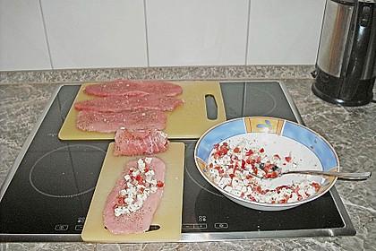 Involtini mit Mozzarella - Tomatenfüllung 2