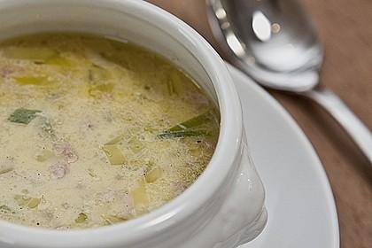 Hackfleisch-Lauch-Suppe von chefkoch | Chefkoch.de