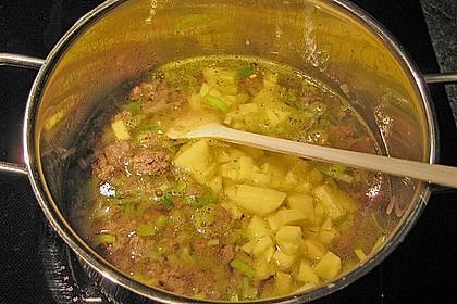 Hackfleisch-Lauch-Suppe 24