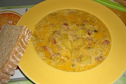 Hackfleisch-Lauch-Suppe 41