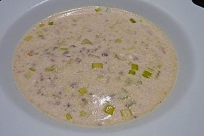 Hackfleisch-Lauch-Suppe 10