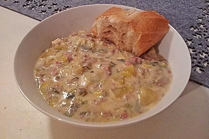 Hackfleisch-Lauch-Suppe 29