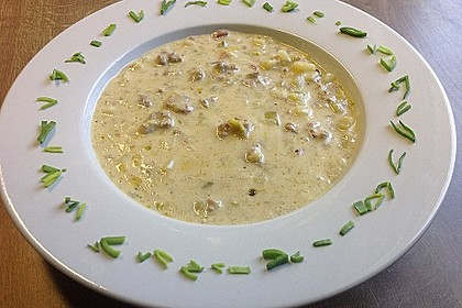 Hackfleisch-Lauch-Suppe 4