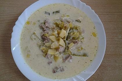 Hackfleisch-Lauch-Suppe 18